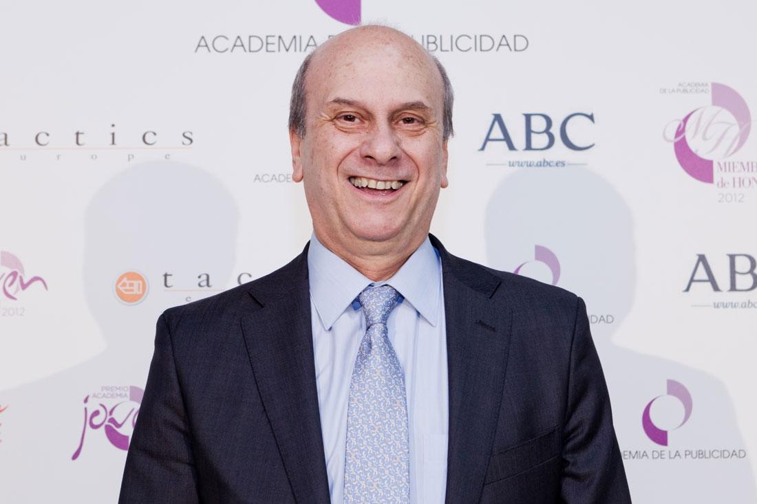 Juan Ramón Plana en la Academia de Publicidad